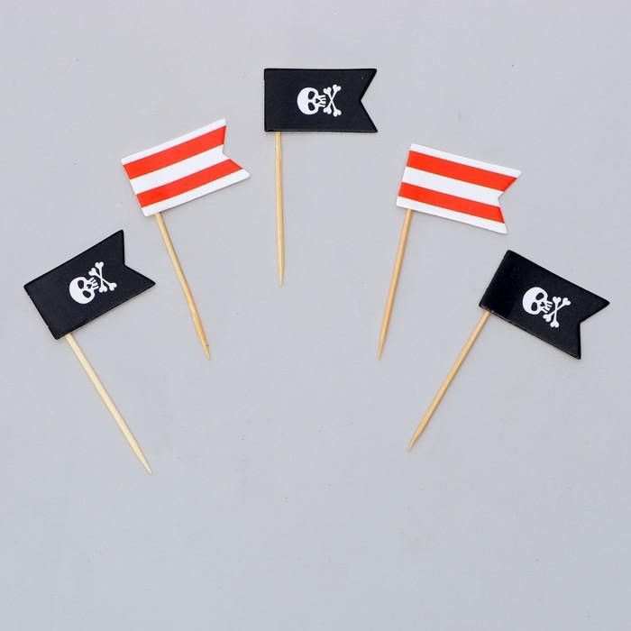 """Шпажки """"Пират"""" (набор 12шт)"""