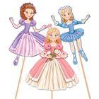 """Набор для творчества """"Принцесса"""" для создания игрушек-дергунчиков"""