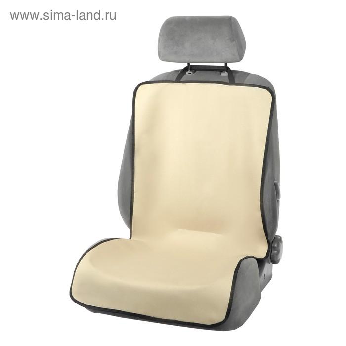 Защитная накидка на сиденье TORSO, 110х50 см, бежевая