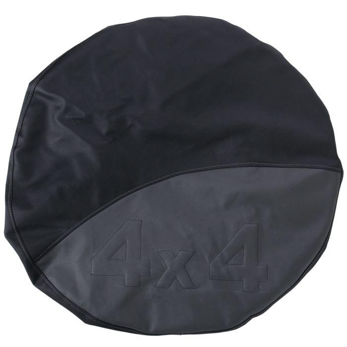 Чехол запаски, размер R 16-17, черно-серый