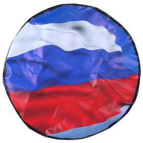 Чехол запаски, размер R 16-17, флаг России большой Ош