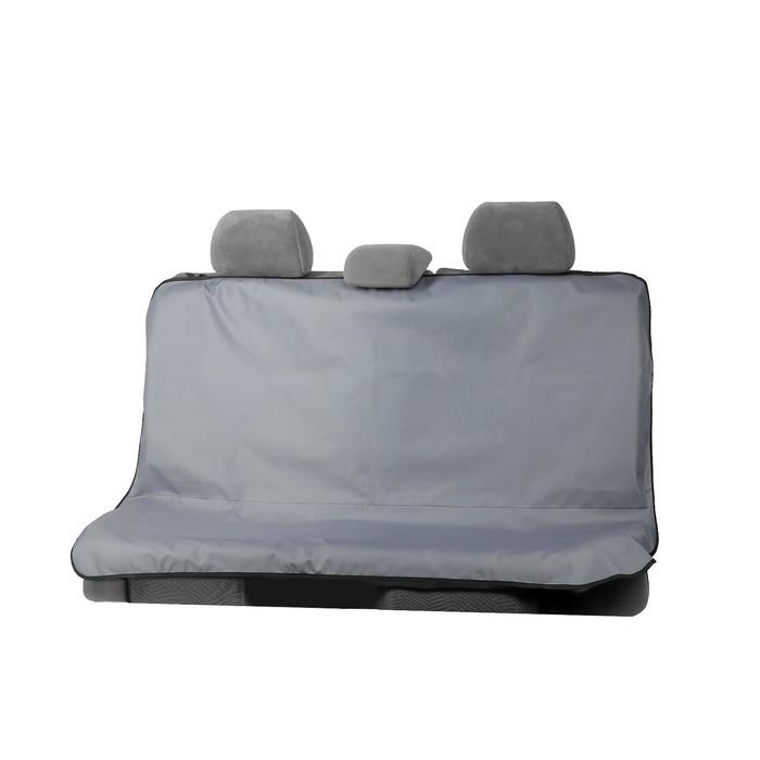 Защитная накидка на заднее сиденье TORSO, 145 х 110 см, серая