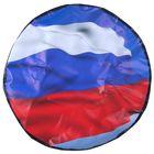 Чехол запаски, размер R 15, флаг России большой