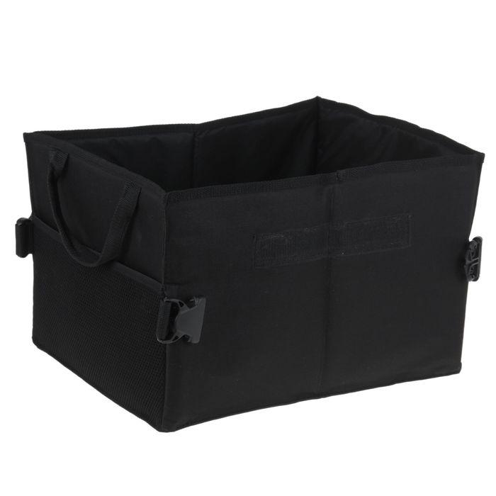 Органайзер в багажник, 39х30х25 см, черный