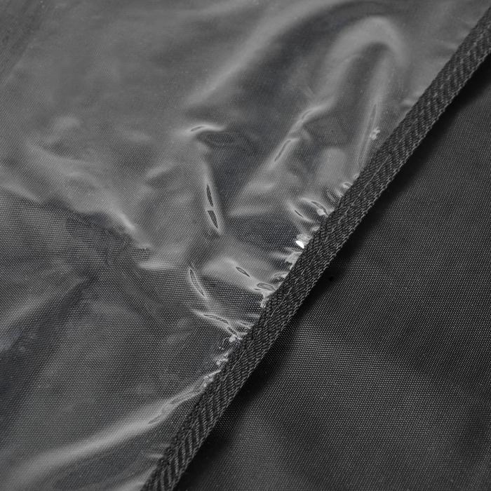 Защитная накидка-органайзер на сиденье TORSO, 55х37 см, черная
