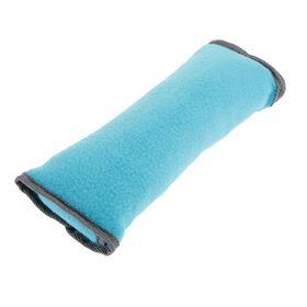 Накладка на ремень безопасности TORSO, 30х10 см, флис, голубая