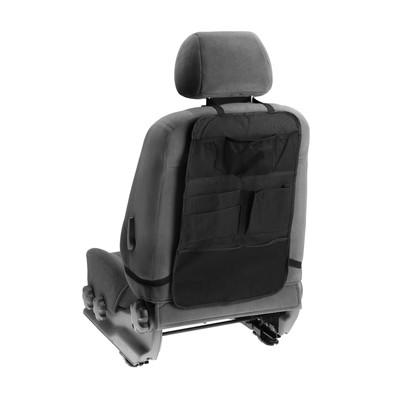 Накидка-органайзер TORSO, 7 карманов, 37 х 60 см, черный