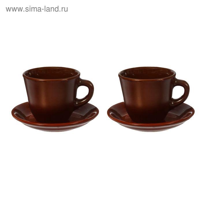Набор чайных пар шелк 2*0,3 л