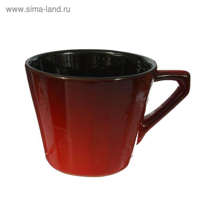 """Чашка """"Ностальгия"""" №2 красный 0,2 л"""