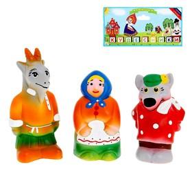 Набор резиновой игрушки «Серенький козлик»