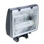Прожектор Ecola, с лампой GX24q-4, 42 Вт, 220 В, 2700 К, 244x105x300 мм, IP65, тёмно-серый