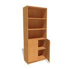 Шкаф для документов с нижними дверями 800*420*2020 бук бавария