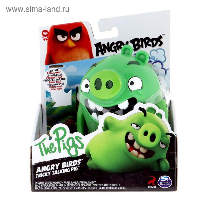 Игрушка Angry Birds интерактивная говорящая птица 90510 МИКС