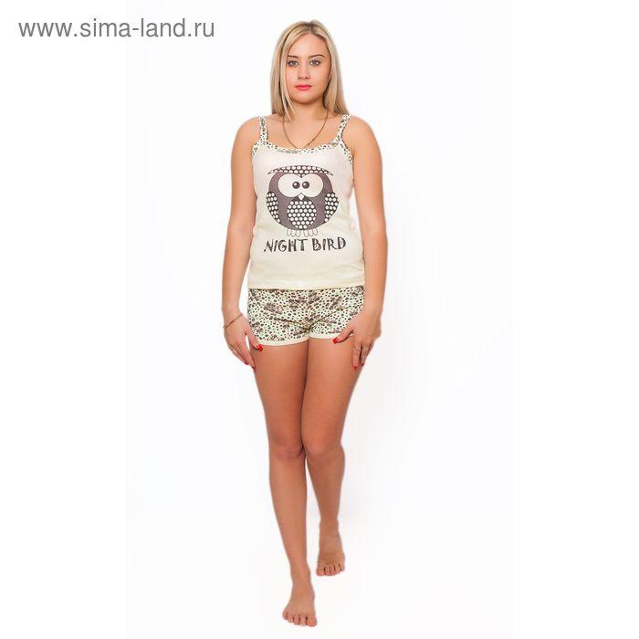 Комплект женский (топ, шорты) ТК-989 МИКС, р-р 48