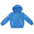 Ветровка для мальчиков, рост 92-98 см, возраст 2 года, цвет голубой (арт. BZIN365)