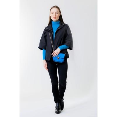 Куртка женская, рост 168 см, размер 46, цвет чёрный (арт. 63)