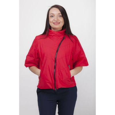 Куртка женская, рост 168 см, размер 48, цвет красный (арт. 39)