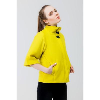 Куртка женская, рост 168 см, размер 46, цвет лайм (арт. 63)