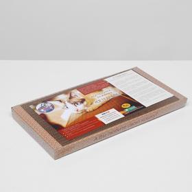 Домашняя когтеточка-лежанка для кошек 50 x 24 (когтедралка) - быстрая доставка