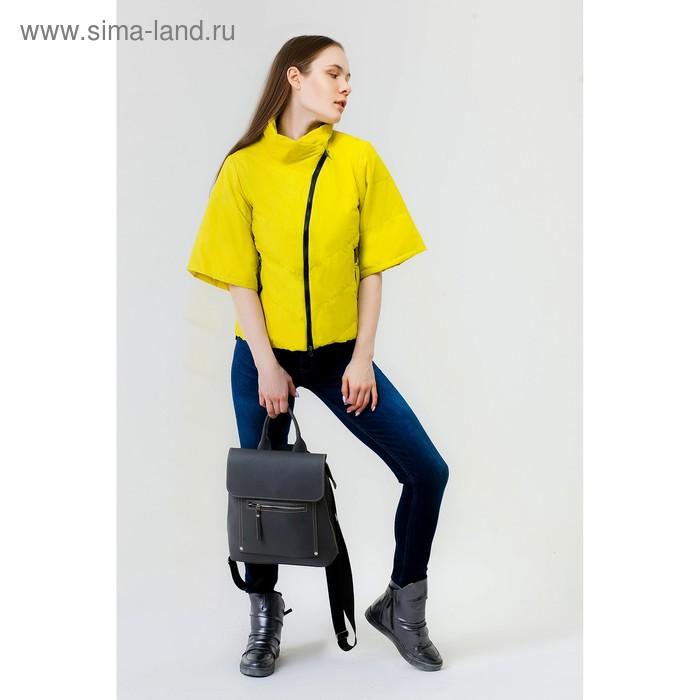 Куртка женская, рост 168 см, размер 48, цвет лайм (арт. 39)