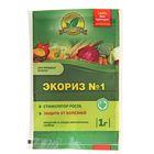 Биостимулятор роста Экориз № 1 для овощных культур, 1 г