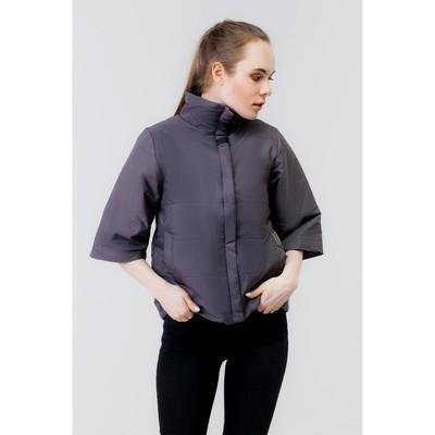 Куртка женская, рост 168 см, размер 46, цвет асфальт (арт. 63)