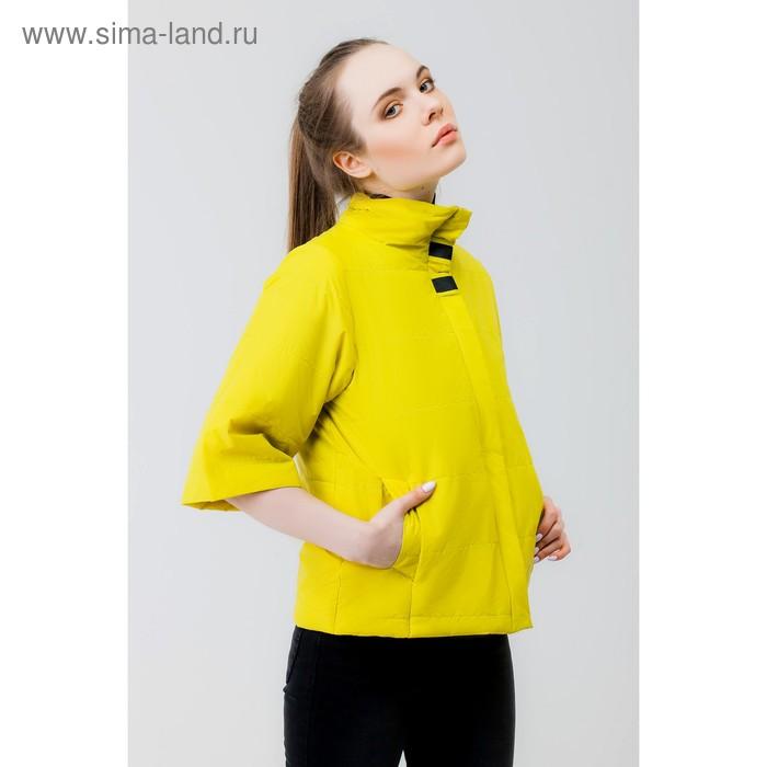 Куртка женская, рост 168 см, размер 44, цвет лайм (арт. 63)
