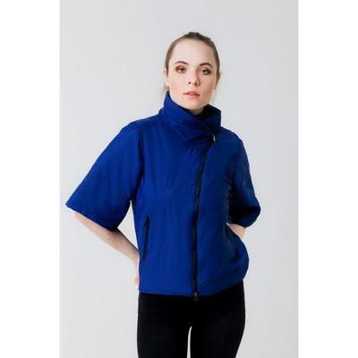 Куртка женская, рост 168 см, размер 50, цвет синий (арт. 39 С+)