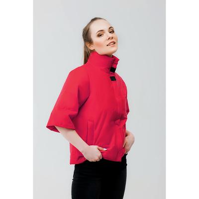 Куртка женская, рост 168 см, размер 48, цвет красный (арт. 63)