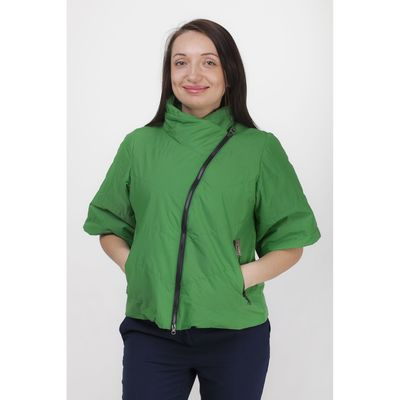 Куртка женская, рост 168 см, размер 46, цвет зелёный (арт. 39)