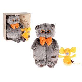 Мягкая игрушка «Басик с мышкой Миленой»
