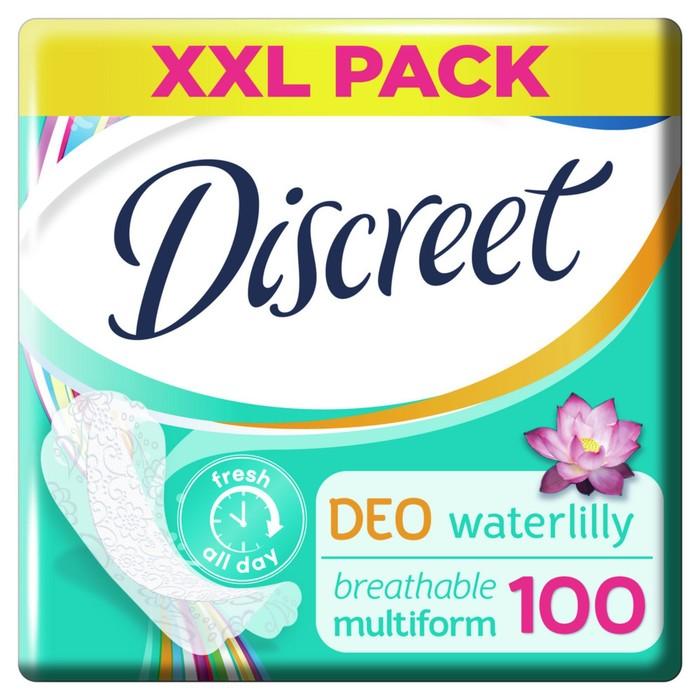 Прокладки ежедневные «Discreet» Deo Водная Лилия, 100 шт