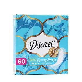 Ежедневные прокладки Discreet Deo Spring Breeze Multiform, 60 шт.