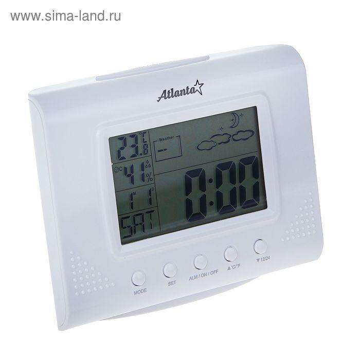 Метеостанция Atlanta ATH-2502, часы, будильник, календарь
