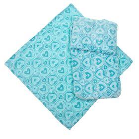 Набор для коляски (3 предмета), цвет голубой 22100 Ош