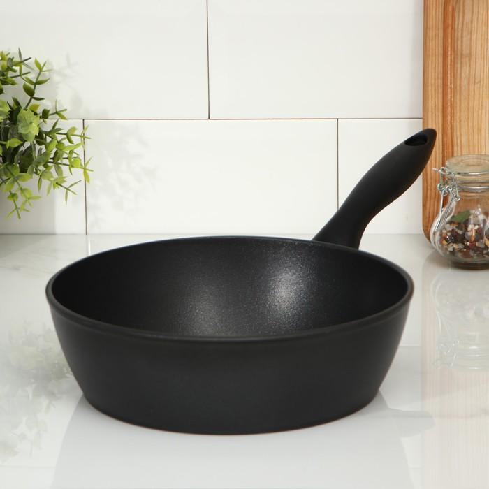 Сковорода «Надежда», 24 см, высота 7,4 см
