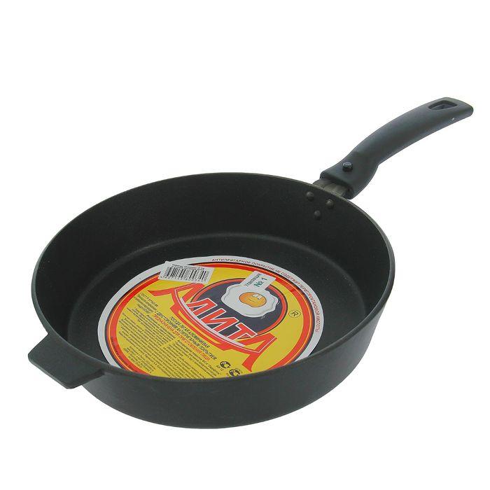 Сковорода 24 см «Хозяюшка», съёмная ручка - фото 1641326