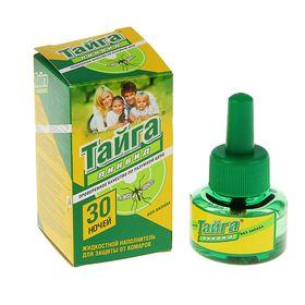 """Дополнительный флакон-жидкость от комаров """"Тайга"""" Ликвид, без запаха, 30 ночей, флакон, 30 мл 140286"""