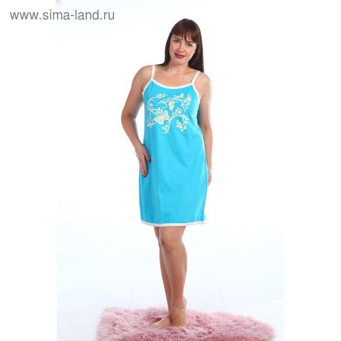 Сорочка женская, цвет МИКС, размер 50 (арт. 244ХГ1671П)