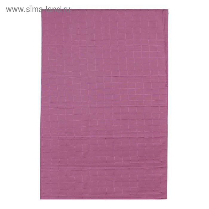 Римская тканевая штора 160х160 см Ammi, цвет розовый