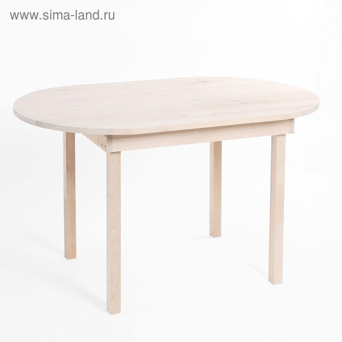 Стол обеденный из массива березы 1250*760*7З0