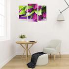 """Модульная картина на подрамнике """"Букет тюльпанов"""", 2 — 25,5×50,5 см, 1 — 30,5×60 см, 60×100 см"""