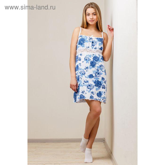 Сорочка женская, цвет белый, размер 54 (арт. 8395)