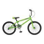 """Велосипед 20"""" Stinger BMX Shift, 2017, цвет зелёный, размер 10"""""""