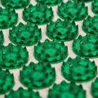 """Массажёр-аппликатор """"Тибетский"""" (аппликатор Кузнецова), на мягкой подложке, для чувствительной кожи, цвет зелёный"""