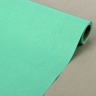 Бумага упаковочная крафт, двусторонняя мятная, 0.5 х 10 м