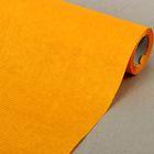 Бумага упаковочная крафт, двусторонняя желтая, 0.5 х 10 м