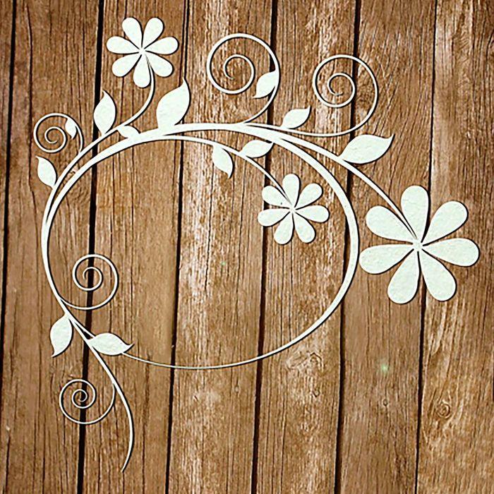 """Чипборд-рамка """"Аромат цветов"""", толщ. 0,9-1,15 мм"""