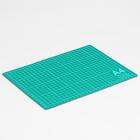 Мат для резки, серо-зелёный, DK-004, 30х22см