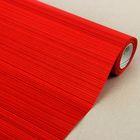 """Бумага упаковочная крафт """"Полоски люкс"""",  красная, 0.5 х 10 м"""